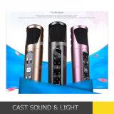 PC/téléphone mobile Bluetooth sans fil Mini Microphone karaoké