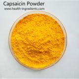 Soluble en agua natural en polvo de la capsaicina extraída de pimiento rojo
