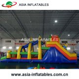 Custom Inflatable Jungles Climbing barrier for sport Game