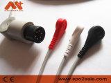 Medtronic Physio Control Compatible pin 6 Cable de ECG