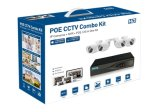 videocamera di sicurezza impermeabile del CCTV del IP di IR Poe del kit di 4.0MP 4CH NVR