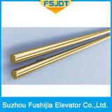 De Lift van de passagier met Decoratie van het Roestvrij staal van het Titanium de Gouden