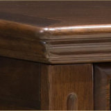 Quarto de alta qualidade do mobiliário de madeira sólida colchão (como816)