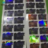 Collants/étiquettes personnalisés de vinyle de produits de beauté d'impression