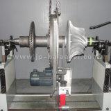 Pully equilibrio dinámico de la máquina con correa de transmisión