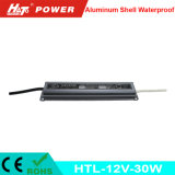 fonte de alimentação Htl do interruptor do transformador AC/DC do diodo emissor de luz de 12V 2A 30W