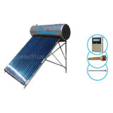 Presión calentador de agua solar compacto de acero inoxidable