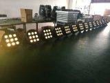 4in1 het Binnen Plastic PARI 9*10W RGBW kan aansteken