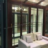Профессиональное изготовление двери панели двери алюминиевого сплава стеклянной сползая
