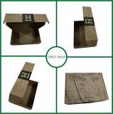 عامة صندوق من الورق المقوّى يبعد سوداء طباعة يغضّن صندوق من الورق المقوّى