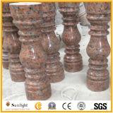 Chielsed rote Granit-Balusters und Handlauf für Balustrade