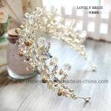 Крона самых высокомарочных кристаллический тиар подарка рождественской вечеринки Stonne венчания кроны стеклянных барочных Bridal (BC-10)