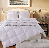ホームまたはホテルのための233tc綿の満ちる羽毛布団かキルト