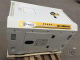 熱い販売8kw 10kVAの無声防音の携帯用ディーゼル発電機