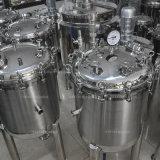 Aço inoxidável Depressão do tanque de armazenamento vertical