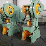 Prensa de potencia excéntrica ordinaria de la punzonadora del orificio de la herramienta de máquina J23 100ton