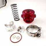 st rossa di alluminio della valvola di scarico Spring+Flange della billetta universale di 50mm Bov Turbo nuova