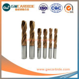 HRC55 2X6X4X50X3mm carboneto de tungsténio torça brocas