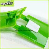 Lavette plate de Microfiber avec le traitement en métal 3sections