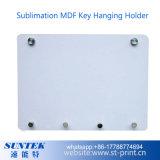 Da chave em branco do MDF do Sublimation suporte de suspensão do armazenamento das placas do gancho