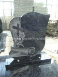 Lapide cristiana del monumento blu indiano del granito per Asia Sud-Orientale