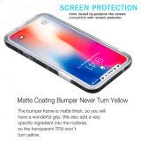 Het Zwarte Marmeren Geval van de Telefoon van het Gel TPU van het Silicone van de anti-Kras van de Druk van de Folie IMD Gouden Slanke Geschikte Zachte Flexibele Mobiele voor iPhone X van de Appel