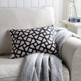 Funda de cojín bordado geométrica sofá almohada Cojín blando