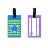 Bagages personnalisés Tag Maker Logo personnalisé bon marché de gros avion de voyage en vrac en PVC souple Luggage Tag