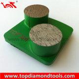 Этапы диаманта Husqvarna меля для полируя бетона