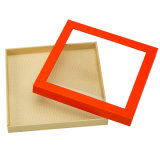 Maquillaje de papel de embalaje de regalo cosmética de Verificación de almacenamiento para el cuidado personal