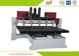 Таблица двигая маршрутизатор CNC с водяным охлаждением Китаем 6 шпинделей