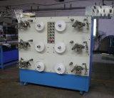 Machine de roulement de 6 bobines pour toutes sortes de tissu étroit, bandes d'étiquette