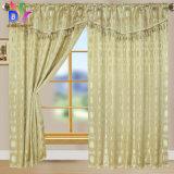 La tenda su ordine di vendita calda di mancanza di corrente elettrica del jacquard copre per la tenda di finestra della camera da letto