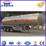 2/3 do eixo do depósito de gasolina do petróleo do transporte do petroleiro de reboque Diesel de alumínio Semi