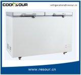 Double-Door Open Signal Chest Deep Freezer, Double-Door Refrigerator