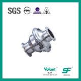 Válvula de verificação soldada RUÍDO Sfx042 do aço inoxidável 304 316L Stanitary