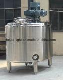 Réservoir de mélange revêtu de double d'acier inoxydable