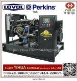34kw/42.5kVA stille Diesel die Generator door Lovol-Perkins Engine-20171012h wordt aangedreven