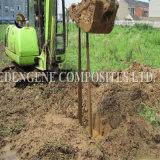 Dispositif avertisseur de câble souterrain discernable de PE de terrassements