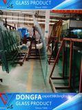 gekurvte 15mm/19mm der erstklassige heiße Verkauf/verbog abgehärtetes/ausgeglichenes Glas für Zwischenwand-/moderner Entwurfs-Gebäude