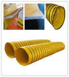 Conduit isolé par climatiseur flexible de PVC
