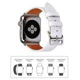 riem van het Horloge van het Leer van de Manier van 22mm de Echte voor de Band van het Horloge van de Appel