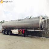 Acoplados de aluminio usados 60000 litros del petrolero del combustible de petróleo para la venta