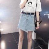 Jean Skirt della nuova signora, per la bella signora