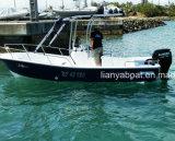 Шлюпка стеклоткани Liya 8person для изготовлений Китая шлюпки Panga рыболовства