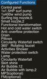Nieuwe 1600mm Rechthoek Hottub met LEIDENE Waterval (bij-P17117)