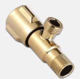 Válvula de ángulo del acero inoxidable con el Cromo-Laminado (EM-V-A292)