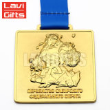 Medalla de encargo barata del dragón de la aleación del cinc de la buena calidad