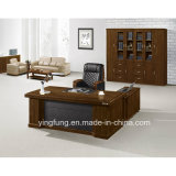 Bureau en bois exécutif Yf-2878 de bureau de luxe de meubles de bureau