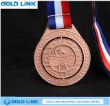 金属のスポーツメダルバスケットの球のサッカーメダル賞のクラフト